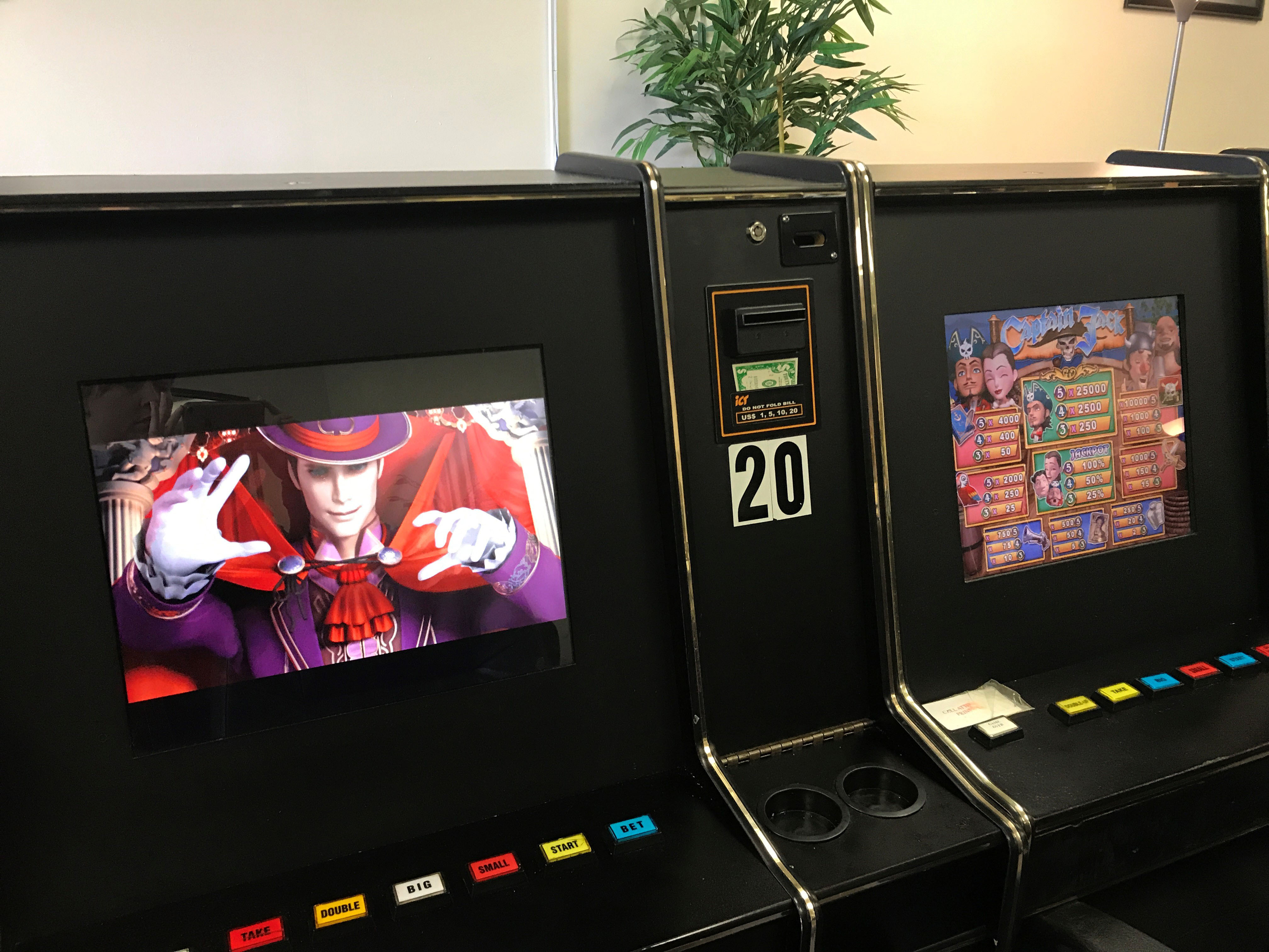Illegal Gaming Machines Seized by Commission